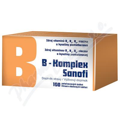 B-komplex Zentiva por.tbl.flm.100 Glass