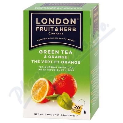 Čaj LFH zelený s pomerančem 20x2g n.s.