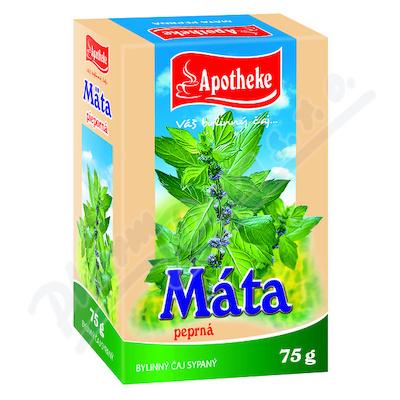Apotheke Máta peprná - list sypaný čaj 75g