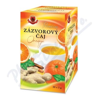 HERBEX Zázvorový čaj Orange (Pomeranč) n.s.20x2g