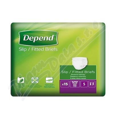 Depend Slip Super Plus inkont.kalhotky vel.S 15ks