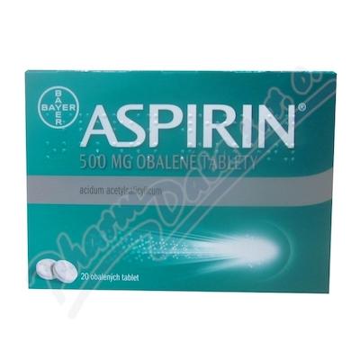Aspirin 500mg por.tbl.obd.20x500mg