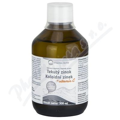Koloidní zinek + vitamín C 300ml