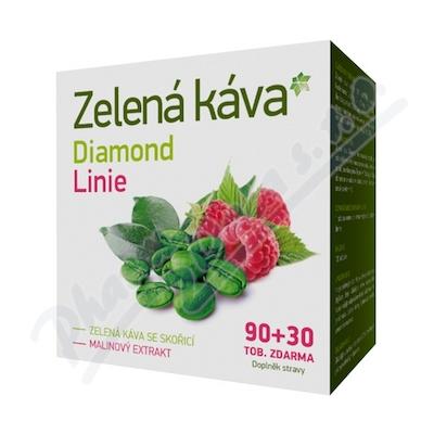 Zelená káva Diamond Linie 90+30 tob. ZDARMA