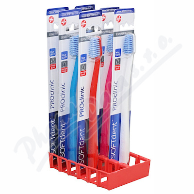 Zub.kart.SOFTdent PROclinic extra měkký S1111 1ks