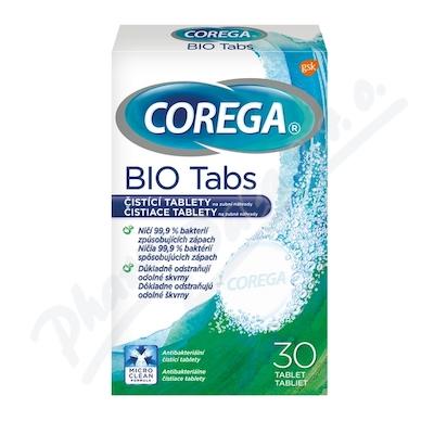 Corega Bio Tabs čisticí tablety 30ks