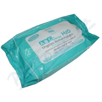 BIODERMA ABCDerm H2O Micelární ubrousky 60 ks