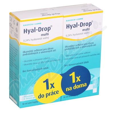Hyal-Drop multi - speciální balení 2x10ml
