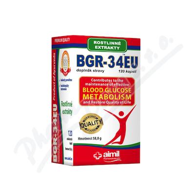 Aimil BGR-34 EU Ajurvédský doplněk stravy cps.120