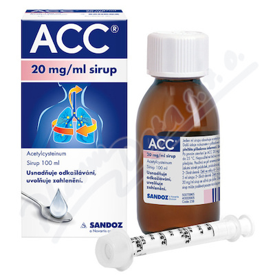 ACC 20mg/ml sir. 1x100ml
