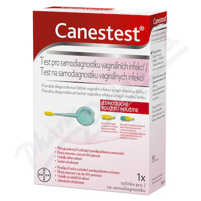 Canestest test pro samodiagnostiku vagin.infekcí