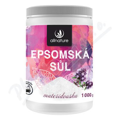 Allnature Epsomská sůl Mateřídouška 1000g