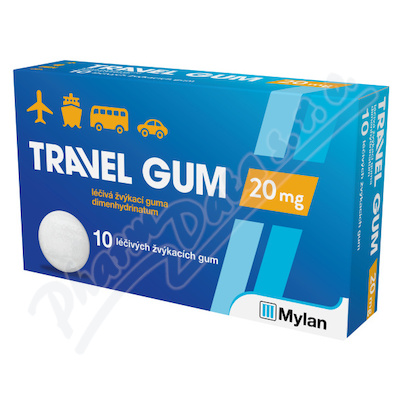 Travel-Gum 20mg por.gum.10