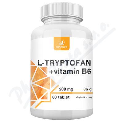 Allnature L-tryptofan + vit.B6 200mg/2.5mg tbl.60