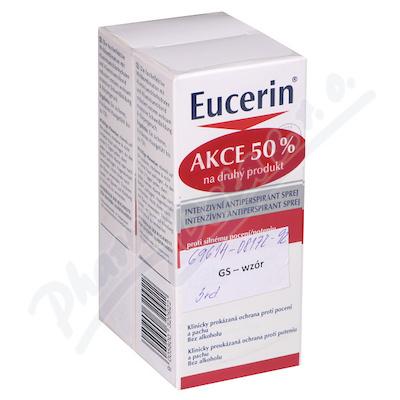 EUCERIN DEO Intenzivní AP sprej DUOPACK2020 2x30ml