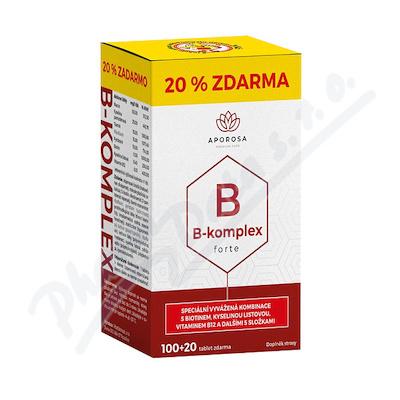 APOROSA B-komplex forte tbl.100+20