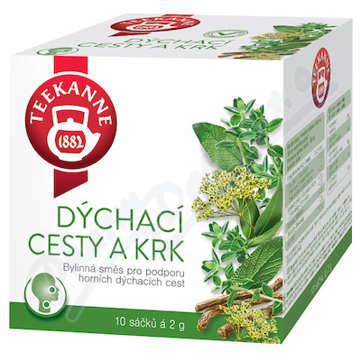 TEEKANNE Dýchací cesty a krk bylinný čaj n.s.10x2g