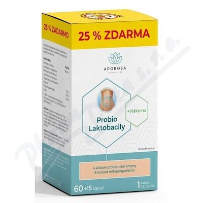 APOROSA Probio Laktobacily cps.60+15