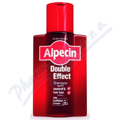 ALPECIN Energizer Double Effect Shampoo 200ml