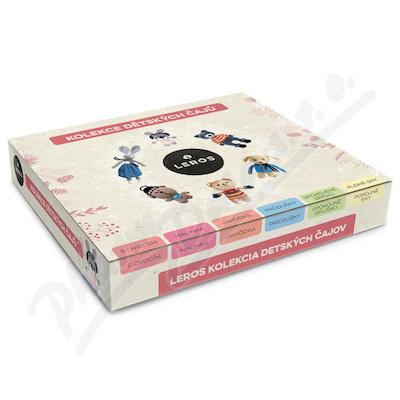 LEROS Kolekce dětských čajů 6x5ks