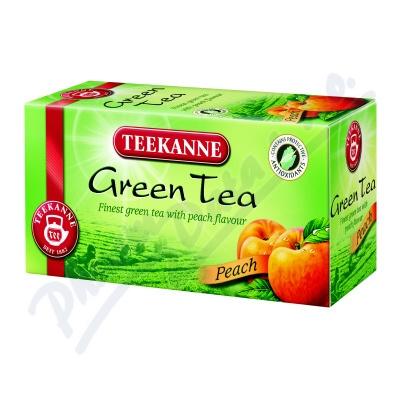 TEEKANNE Zelený čaj broskev n.s.20x1.75g
