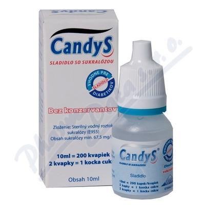 CandyS 10ml sladidlo se sukralózou