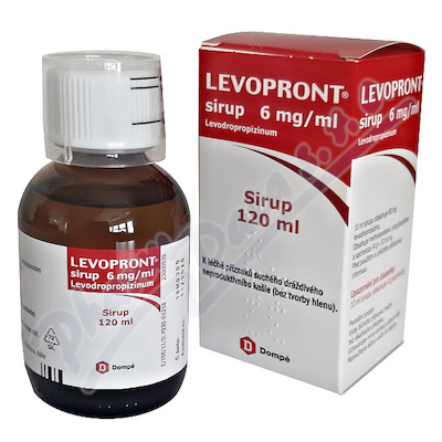 Levopront sirup 6mg/ml sir.1x120ml