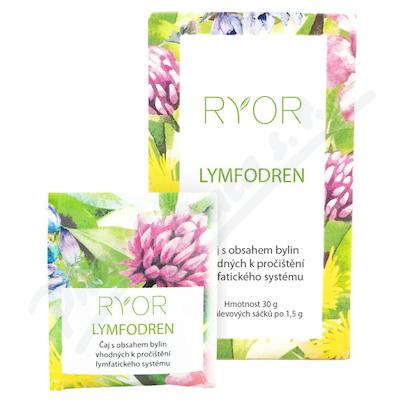 RYOR Lymfodren bylinný čaj 20x1.5g