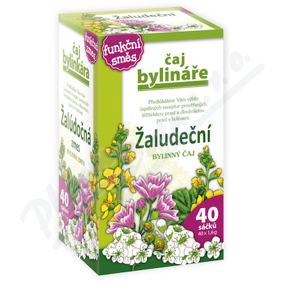 Čaj Bylináře Žaludeční n.s. 40x1.6g