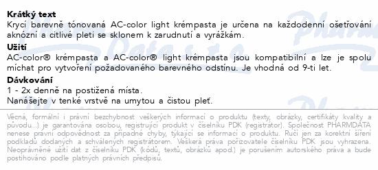 AC-color light krémpasta 30g